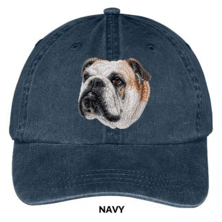 Bulldog Hat - Embroidered II