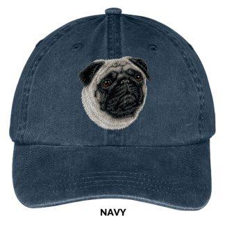 Pug Hat - Embroidered II