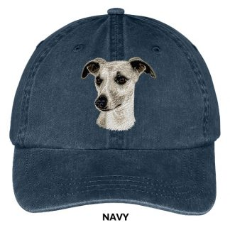Whippet Hat - Embroidered II