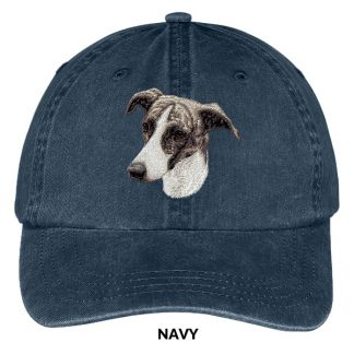 Greyhound Hat - Embroidered II