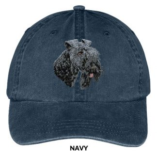 Kerry Blue Terrier Hat - Embroidered II