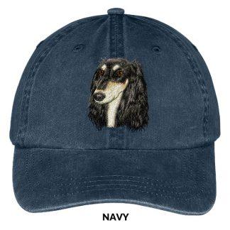 Saluki Hat - Embroidered II