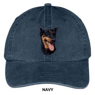 Doberman Pinscher Hat - Embroidered II
