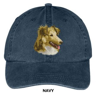 Shetland Sheepdog Hat - Embroidered II