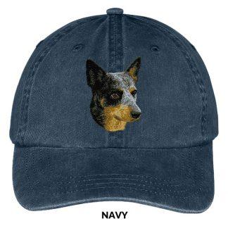 Australian Cattle Dog Hat - Embroidered II
