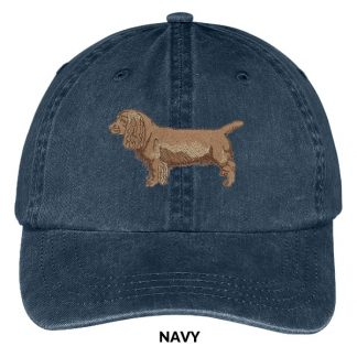 Sussex Spaniel Hat - Embroidered II