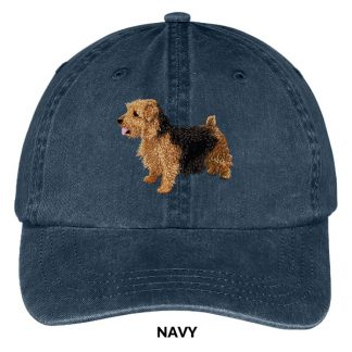 Norfolk Terrier Hat - Embroidered II