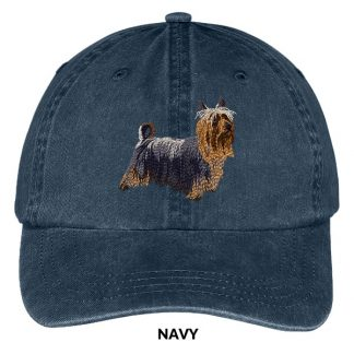 Silky Terrier Hat - Embroidered II