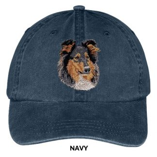 Collie Hat - Embroidered II (Tri)