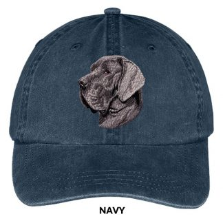 Great Dane Hat - Embroidered II (Uncropped)