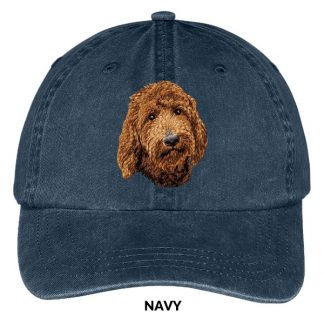 Goldendoodle Hat - Embroidered II (Red)