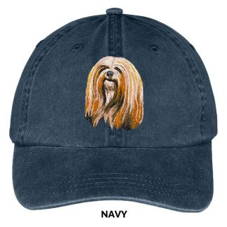 Lhasa Apso Hat - Embroidered II