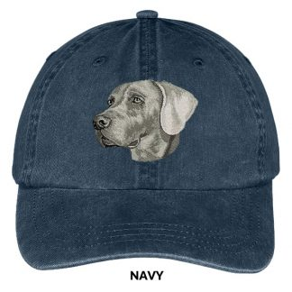 Weimaraner Hat - Embroidered II