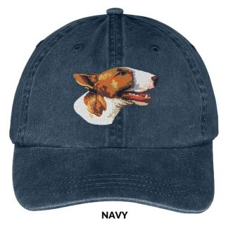 Bull Terrier Hat - Embroidered II