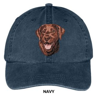 Chocolate Lab Hat - Embroidered II