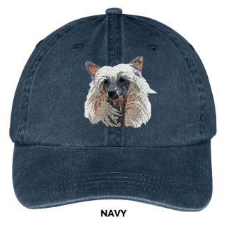 Chinese Crested Hat - Embroidered II