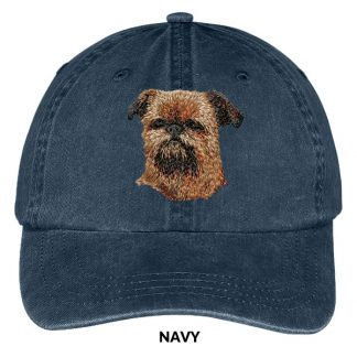 Brussels Griffon Hat - Embroidered II