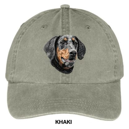 Doberman Pinscher Hat - Embroidered II (Uncropped)