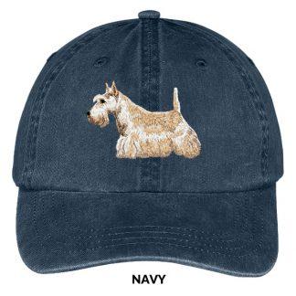 Scottish Terrier Hat - Embroidered II (Wheaten)