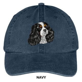 Tri Cavalier Spaniel Hat - Embroidered II
