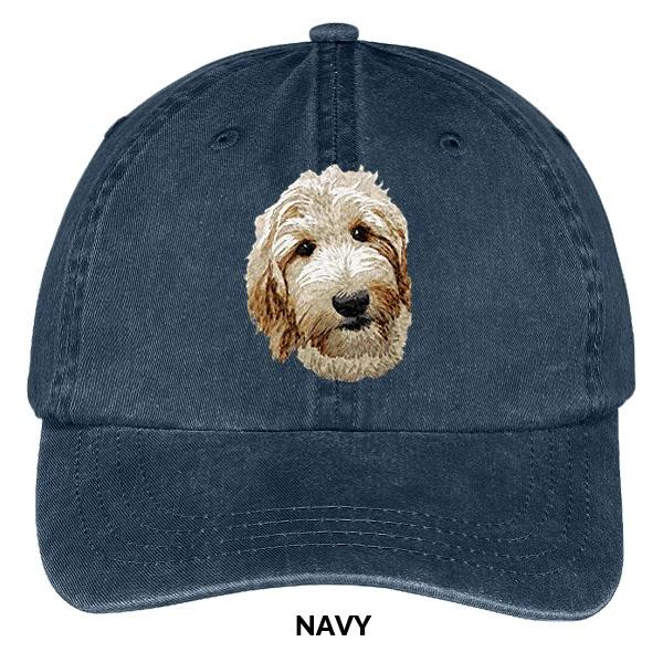 Stitchfy Corn Dog Embroidered Low Profile Soft Cotton Brushed Cap