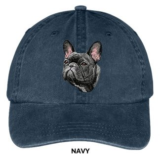 French Bulldog Hat - Embroidered II