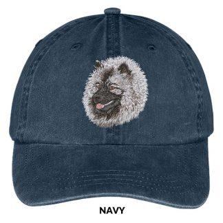 Keeshond Hat - Embroidered II