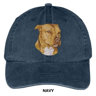 Pitbull Terrier Hat - Embroidered II