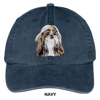 Shih Tzu Hat - Embroidered II