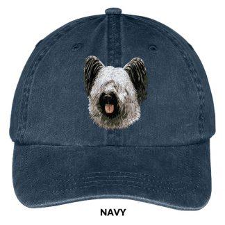 Skye Terrier Hat - Embroidered II