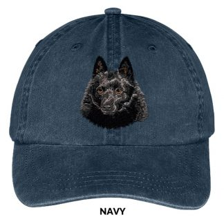 Schipperke Hat - Embroidered II