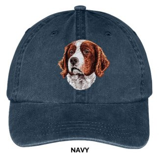 Irish Setter Hat - Embroidered II (Red White)