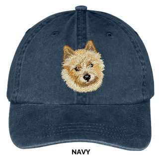 Norwich Terrier Hat - Embroidered II