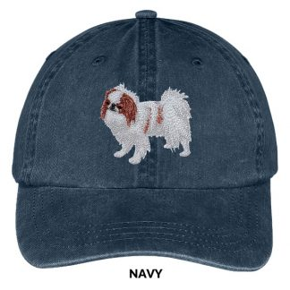 Japanese Chin Hat - Embroidered II (Red)