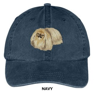 Pekingese Hat - Embroidered II