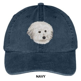 Coton de Tulear Hat - Embroidered II