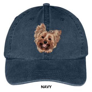 Yorkshire Terrier Hat - Embroidered II