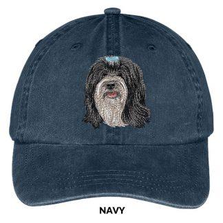 Tibetan Terrier Hat - Embroidered II