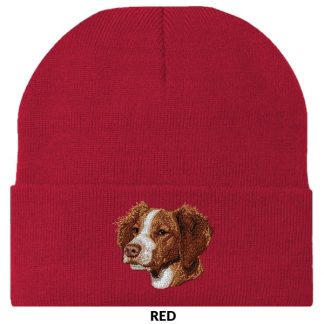 Brittany Knit Cap - Embroidered