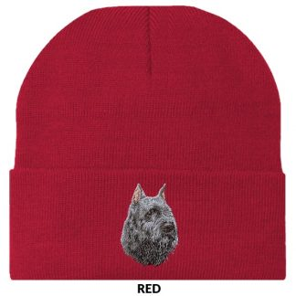 Bouvier Knit Cap - Embroidered