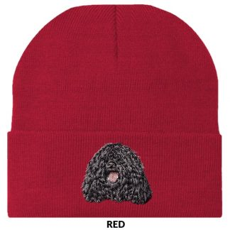 Puli Knit Cap - Embroidered