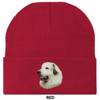 Great Pyrenees Knit Cap - Embroidered
