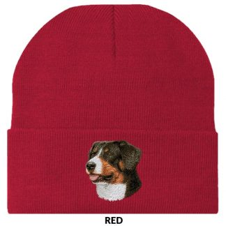 Greater Swiss Mountain Dog Knit Cap - Embroidered