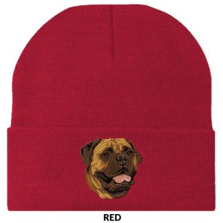Bullmastiff Knit Cap - Embroidered