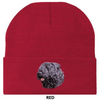 Bouvier Knit Cap - Embroidered (Uncropped)