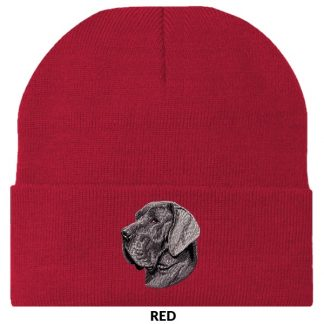 Great Dane Knit Cap - Embroidered (Uncropped)