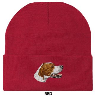 Pointer Knit Cap - Embroidered