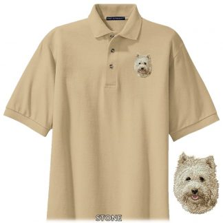 Cairn Terrier Polo Shirt - Embroidered