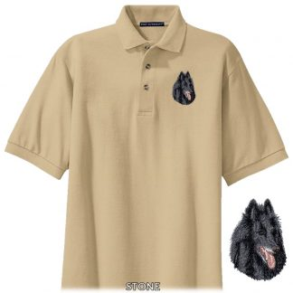 Belgian Sheepdog Polo Shirt - Embroidered