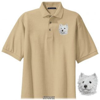 West Highland Terrier Polo Shirt - Embroidered